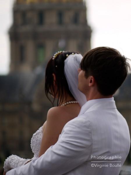 Mariage sur le Pont Alexandre III, Paris