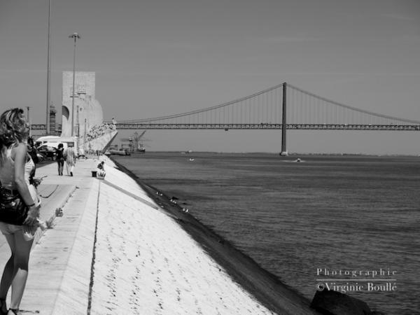 Lisbonne, auto-portrait