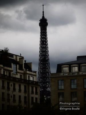 Tour Eiffel vue depuis le Pont d'Alexandre III
