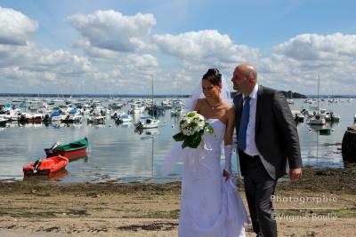 Mariage, portraits des Mariés. Bretagne ©Virginie Boullé