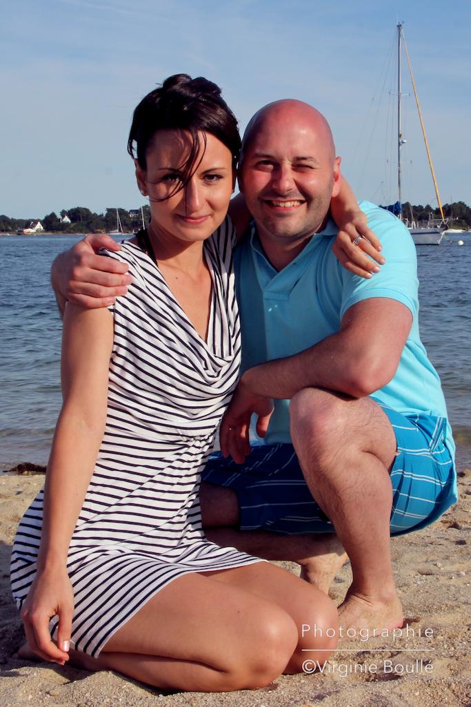 Mariage . PB . Escapade en mer . Bretagne ©Virginie Boullé