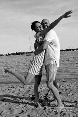 Mariage, escapade en mer. Bretagne ©Virginie Boullé