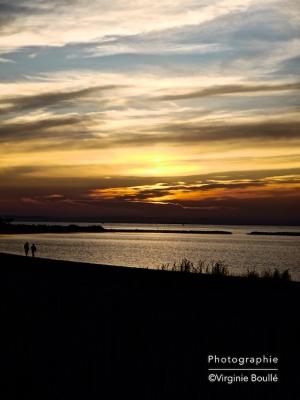 Le Grau du Roi, Camargue, Coucher de soleil ©Virginie Boullé