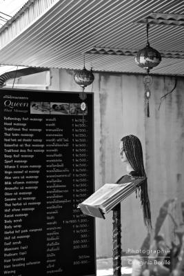 Coiffeur Koh Samui, Thaïlande ©Virginie Boullé