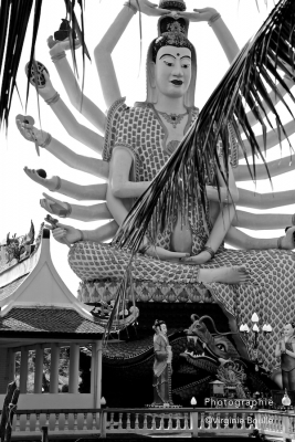Wat Plai Laem, Koh Samui, Thaïlande ©Virginie Boullé