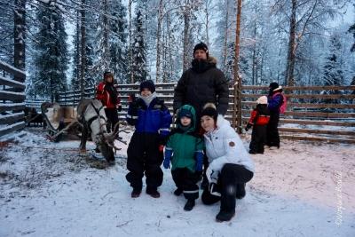 Laponie, Finlande ©Virginie Boullé