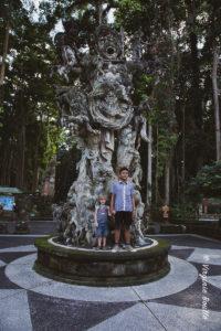 Monkey Forest de Sangeh, Bali ©Virginie Boullé