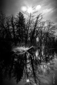 Itteville sous la neige (91), France ©Virginie Boullé