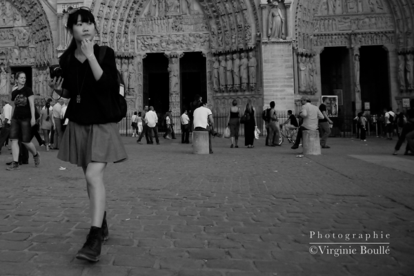 Saint-Michel notre Dame, Paris, France ©Virginie Boullé