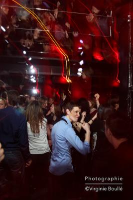 Clubbing, soirée Parisienne. Paris ©Virginie Boullé