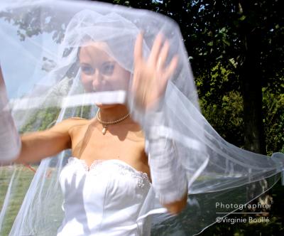 Mariage, série portraits ©Virginie Boullé