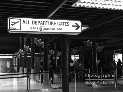 Aéroport de Koh Samui, Thaïlande ©Virginie Boullé