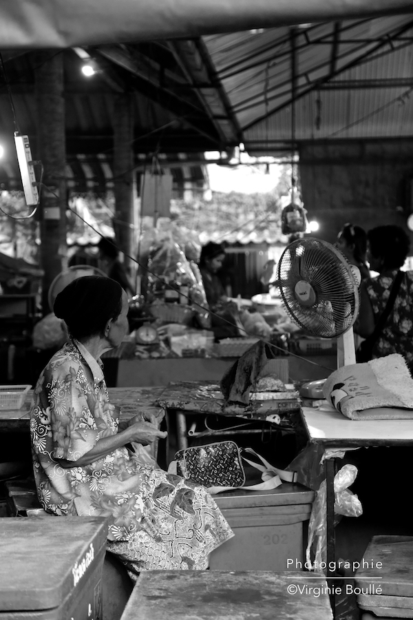 Marché de Koh Samui, Thaïlande ©Virginie Boullé